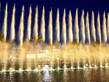 Fanfare Fountains at San Pedro Gateway