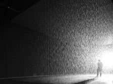 """Rain Room"" by rAndom International"