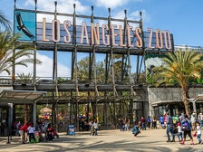 Los Angeles Zoo main entrance