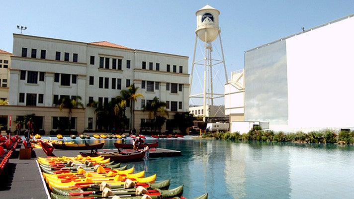 Blue Sky Tank at Paramount Studios