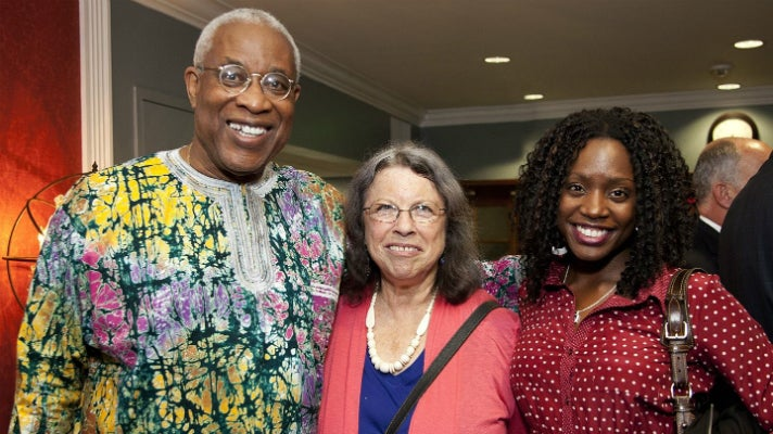 PAFF Executive Director Ayuko Babu, Miki Goral and Rasheda Kilpatrick