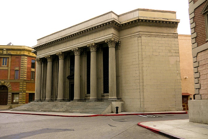 "Philadelphia City Museum in ""Pretty Little Liars"" at Warner Bros. Studio"