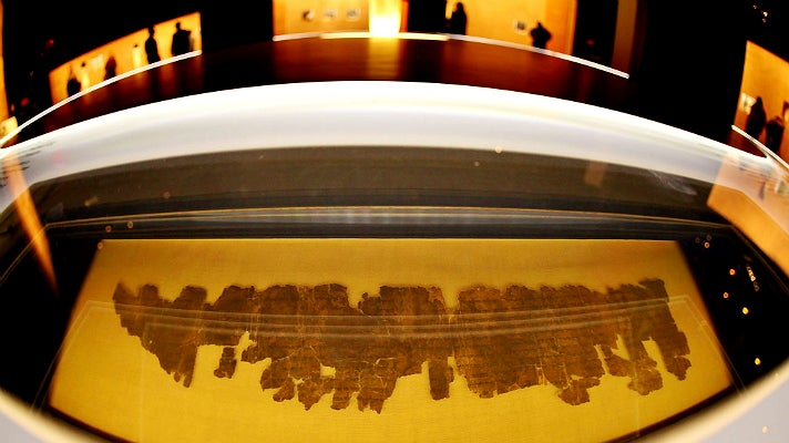 Dead Sea Scrolls at California Science Center