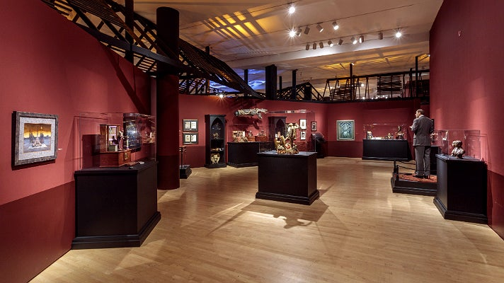 """Magic, Alchemy, and the Occult"" at ""Guillermo del Toro: At Home with Monsters,"" LACMA"