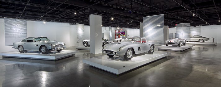 """Precious Metal"" at Petersen Automotive Museum"
