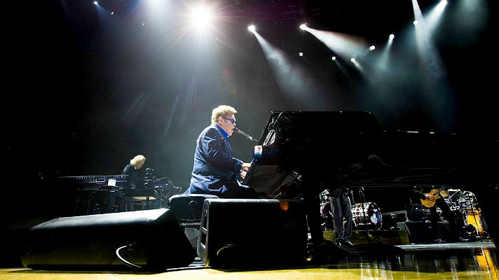 Elton John at STAPLES Center