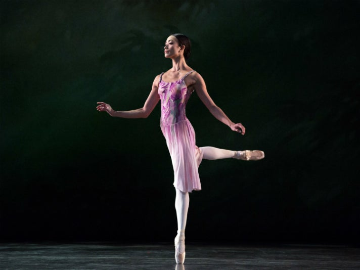 "Stella Abrera in ""Leaves are Fading"" by American Ballet Theatre"