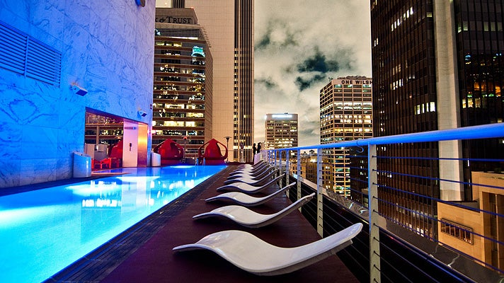 Pool at The Standard Hotel Downtown
