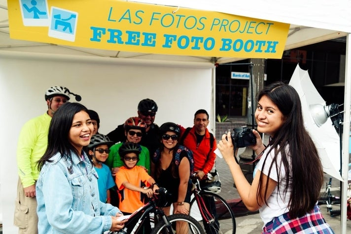 Las Fotos Project at CicLAvia: Heart of L.A.
