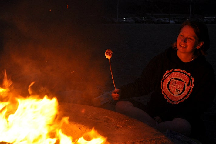 S'mores at Dockweiler State Beach
