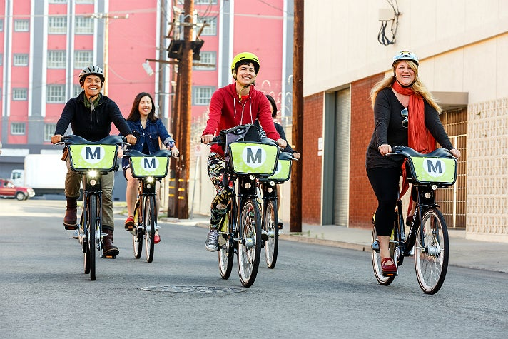 Metro Bike Share in Downtown L.A.