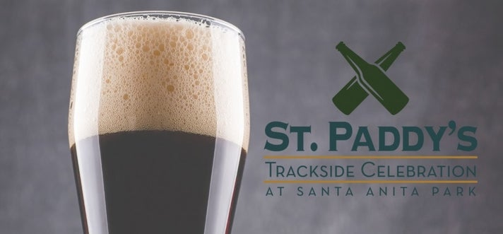 St. Paddy's Trackside Celebration at Santa Anita Park
