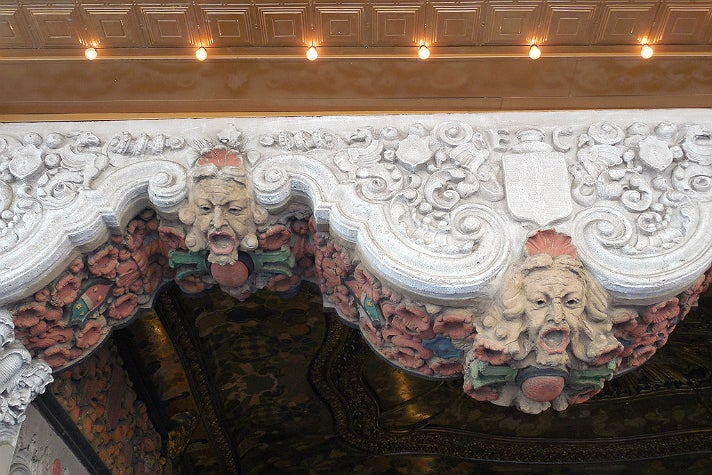 Detail from El Capitan Theatre entrance