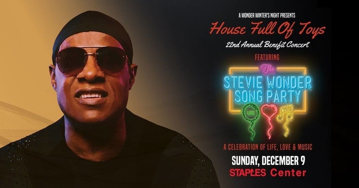 Stevie Wonder's House Full of Toys 2018
