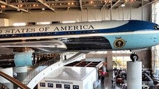 Air Force One at the Ronald Reagan Library