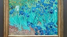 "Vincent van Gogh's ""Irises"" at the Getty Center"