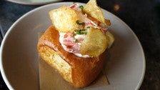 Lobster roll at Son of a Gun