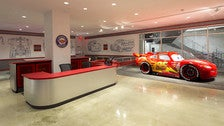 Disney/Pixar Cars Mechanical Institute at Petersen Automotive Museum