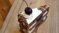 Black Forest cake at BierBeisl Imbiss