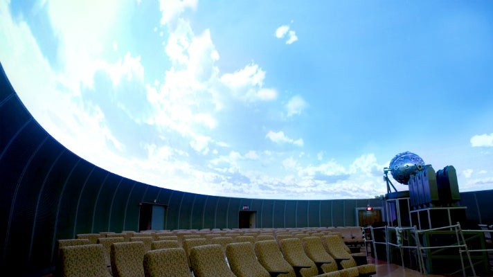 Samuel Oschin Planetarium at the Griffith Observatory