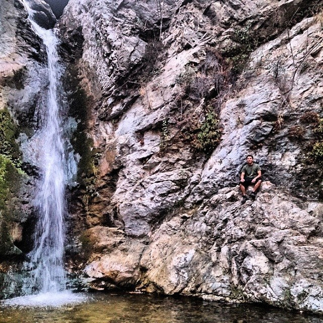 Eaton Canyon waterfall