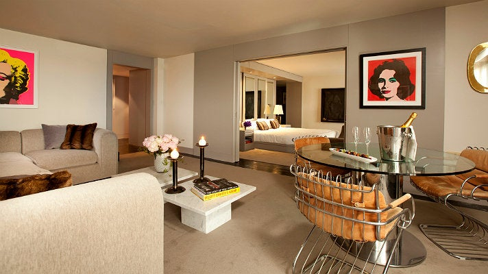 Suite 100 at L'Ermitage Beverly Hills