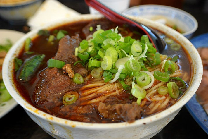 Beef noodle soup at Dai Ho
