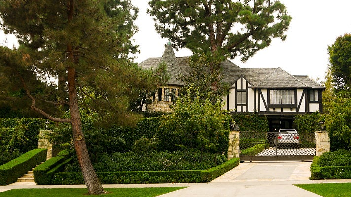 """Dionne's house from """"Clueless"""""""
