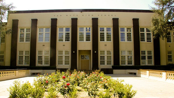 """Van Nuys High School from """"Fast Times at Ridgemont High"""""""