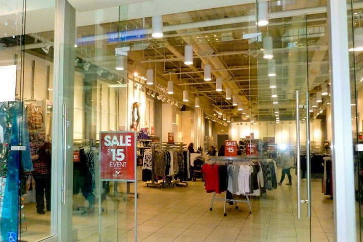 """Wet Seal at Westfield Fashion Square from """"Clueless"""""""