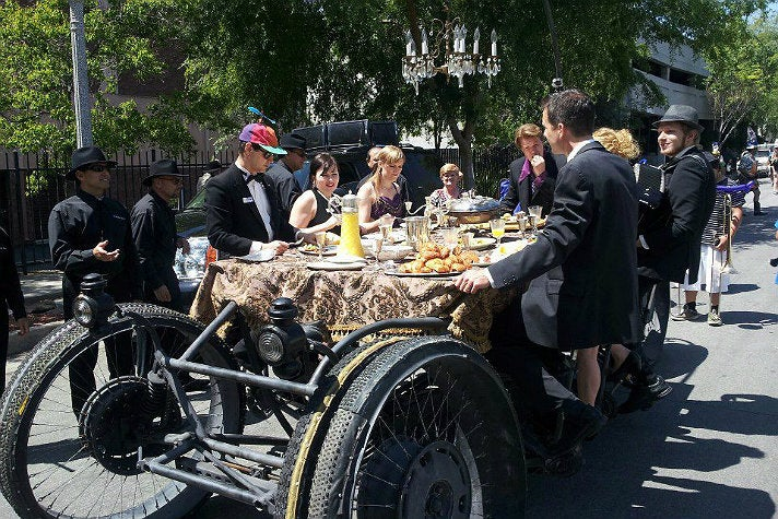 Moveable Feast at Pasadena Doo Dah Parade