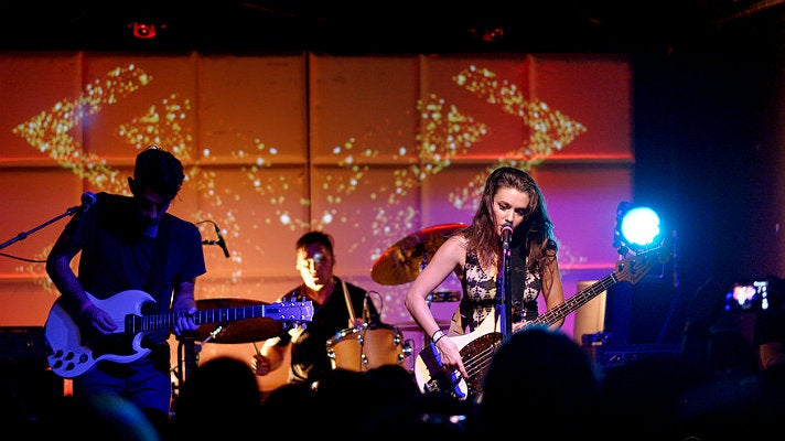 Meg Myers live at The Echo, September 2014