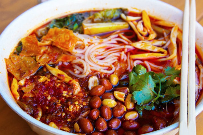 Liuzhou soup at Qin West Chinese Cuisine