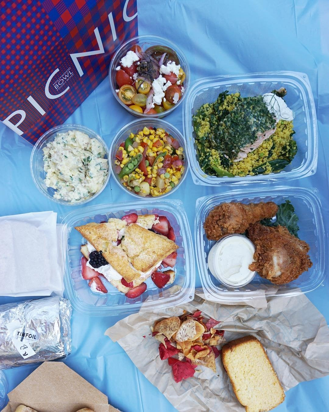 Picnic Box from Lucques Group at the Hollywood Bowl
