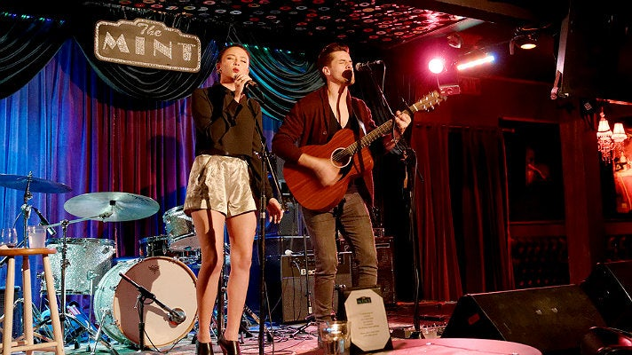 Malese Jow and Austin Charles at The Mint